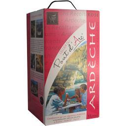 Vin de pays Ardèche, vin rosé