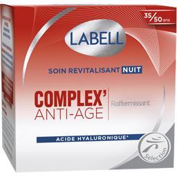 Labell Soin revitalisant nuit Complex' anti-âge le pot de 50 ml