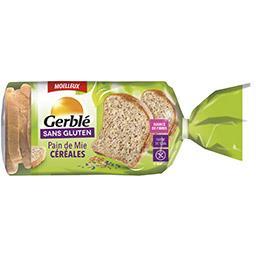 Sans Gluten - Pain de mie céréales