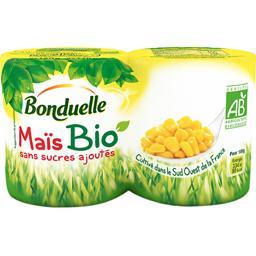 Maïs BIO sans sucres ajoutés