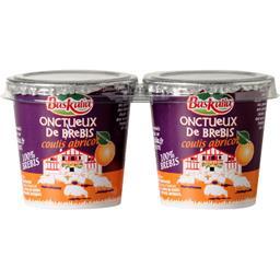Baskalia Onctueux de brebis coulis abricot les 2 pots de 110 g