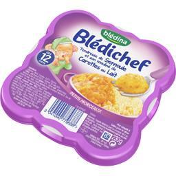 Blédichef - Tendresse de semoule mouliné carottes au...