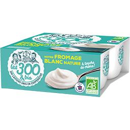 Notre fromage blanc nature BIO