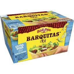 Barquitas - Kit pour Tacos sans piment extra doux