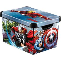 Boite déco Stockholm L décor Marvel Avengers