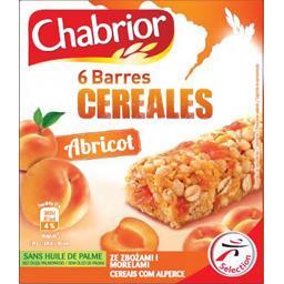 Barres de céréales abricot