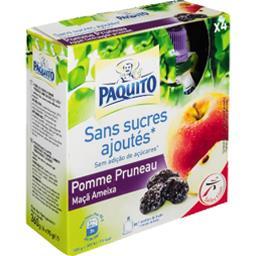 Purée de fruits pomme pruneau sans sucres ajoutés