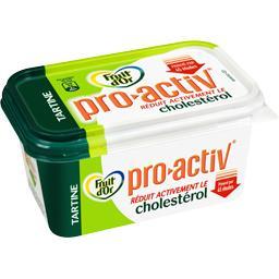 Pro-Activ Tartine 35% M.G. enrichie en stérol végétal ,FRUIT D'OR,la barquette de 500g