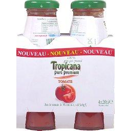 Pure Premium - Jus de tomate salé, 100% pur jus pressé