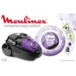 Aspirateur Compacteo Ergo Cyclonic Moulinex – Intermarché