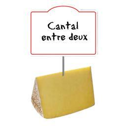 Cantal entre-deux AOP , au lait cru 27% de MG