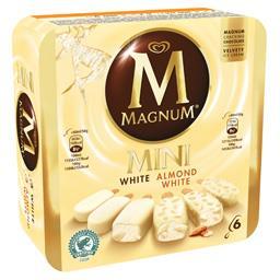 Mini glaces White & Almond White