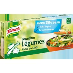 Bouillon de legumes -30 % de sel