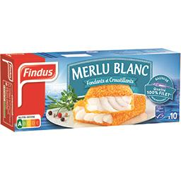 Findus Pané de Merlu blanc 100% filet