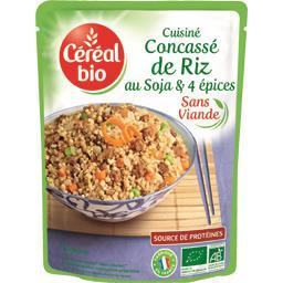 Cuisiné concassé de riz au soja & 4 épices BIO