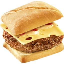 Burger Le Charolais sauce au poivre emmental