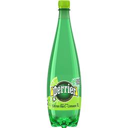 Eau gazeuse saveur citron vert sans sucres