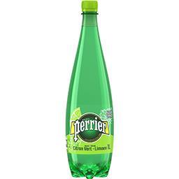 Eau gazeuse saveur citron vert