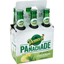 Bière sans alcool Panachade citron & menthe