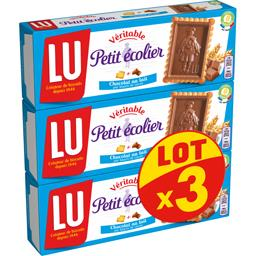 Petit Ecolier - Biscuit avec tablette de chocolat au...