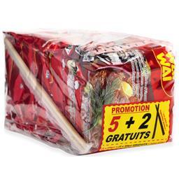 Wai Wai Nouilles instantanées saveur bœuf les 5 paquets de 60 g
