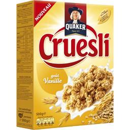 Quaker cruesli vanille 500g