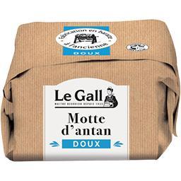 Beurre de baratte La Motte d'Antan doux