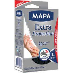 Gants fins mains Extra Protection Taille L 8-8 1/2