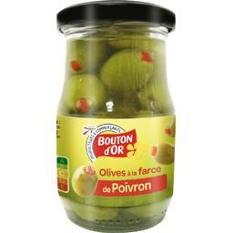 Olives vertes à la farce de poivron