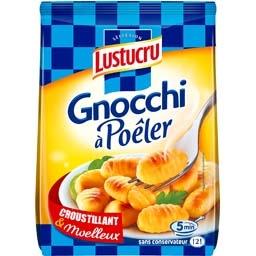 Lustucru Sélection, Gnocchi à poêler le paquet de 320 Gr