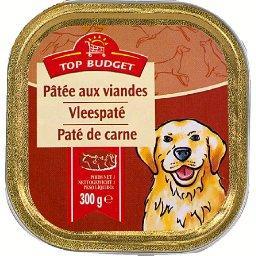 Pâtée au bœuf pour chiens