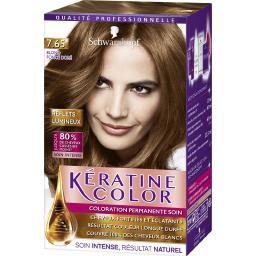 Kératine Color - Coloration soin 7,65 blond foncé doré