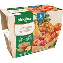 Desserts Harmonie de Fruits, de 6 à 36 mois