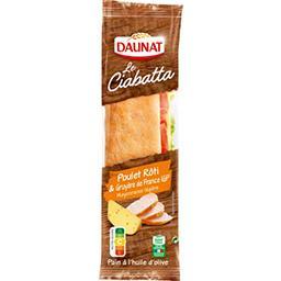 Sandwich Le Ciabatta poulet rôti & gruyère de France...