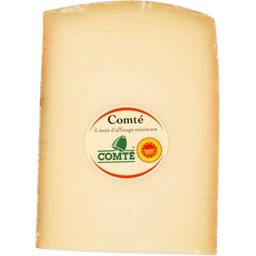 Comté 6 mois d'affinage minimum