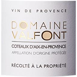Coteaux d'Aix en Provence Domaine Valfont vin Rosé 2017