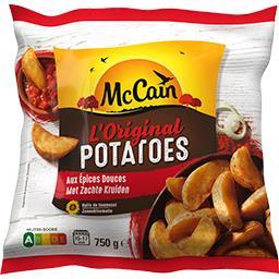Original potatoes aux épices douces