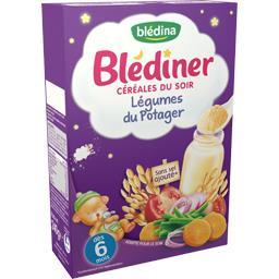 Blédîner - Céréales du soir légumes du potager, dès ...