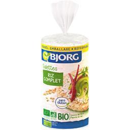 Galettes riz complet BIO