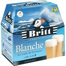 Bière blanche pur malt