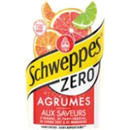 Zéro - Soda Agrum' aux saveurs de 4 agrumes
