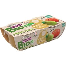 Purée de pomme poire BIO, dès 4/6 mois