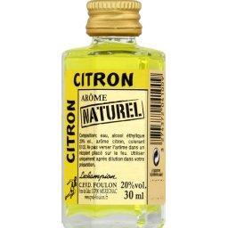 Arôme naturel citron
