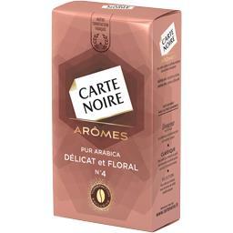 Arômes - Café moulu pur arabica Délicat et Floral n°...