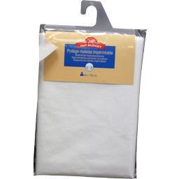 Protège matelas 90X190 cm blanc