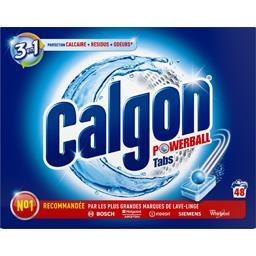 Tablettes anti-calcaire 2 en 1