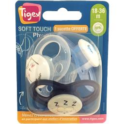 Sucette silicone Soft Touch Physio 18-36 m