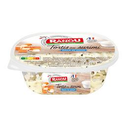 Tortis au surimi sauce au yaourt