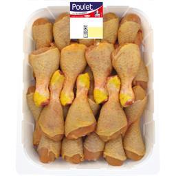 Pilon de poulet de jaune la barquette de 3 kg