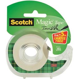 Scotch Brite Ruban Magic 19 mm x 25 m